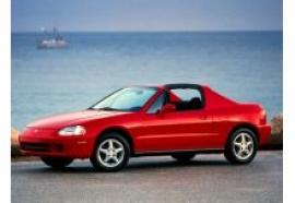 Honda Crx Standard 133ps Technical Data Performance 1001moteurs