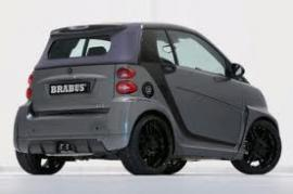 Smart Fortwo Brabus Ultimate 112PS - Technical data & Performance ...