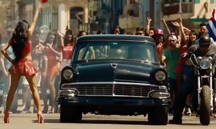 Furious 8 Ford Victoria 1956