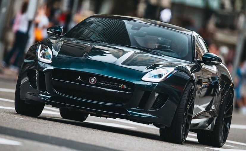 Furious 8 Jaguar F-Type Coupe