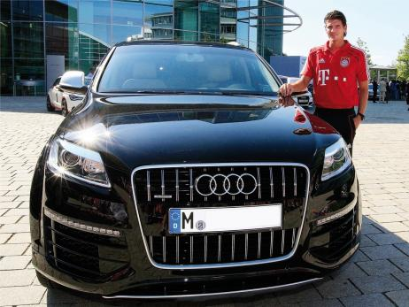 photo of Mario Gomez Audi Q7 - car